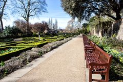Holland park in London royalty free stock images