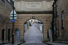 Holland Park Mews photos libres de droits