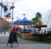Holland pavilion, Expo 2015 royalty free stock photography