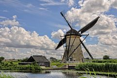 Holland. Picturesque lake in the Netherlands Royalty Free Stock Photography
