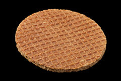 Holland round waffles Royalty Free Stock Photos