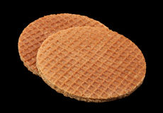 Holland round waffles Stock Photography