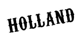 Holland rubber stamp Royalty Free Stock Photography