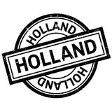 Holland rubber stamp Stock Images