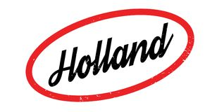 Holland rubber stamp Stock Photo