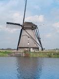 Holland rural windmill Stock Photos