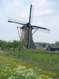 Holland rural windmill Royalty Free Stock Images