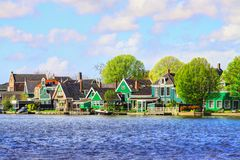 holland schans zaanse Obraz Royalty Free