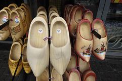 Holland shoes - clogs. Royalty Free Stock Photography