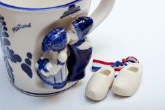 holland souvenir Arkivfoton