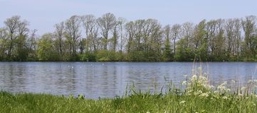 holland spokojny jezioro Fotografia Stock