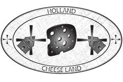 Holland stamp Stock Images