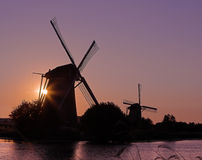 Holland at sunset Stock Photography