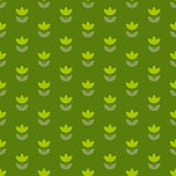 Holland-Tulpe grüne Farbe des Grases wiederholbares Motiv lizenzfreie abbildung