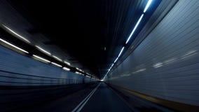 Holland Tunnel till nytt - ärmlös tröja i 4K arkivfilmer