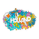 Holland Vector Concept Stock Images