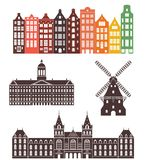 Holland. Vector illustration (EPS 10 Stock Photo