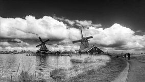 Holland vind maler Royaltyfri Fotografi