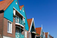 Holland, Volendam, old stone houses Stock Photo