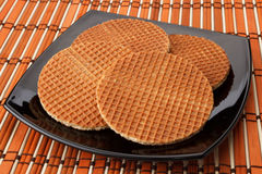 Holland Waffles Stock Foto
