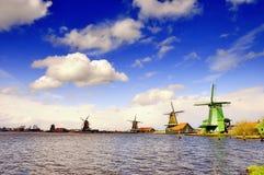Holland-Windmühle Stockbild