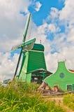 Holland-Windmühle Lizenzfreies Stockbild
