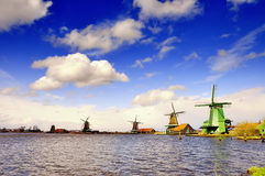 Holland windmill Stock Image