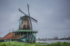 holland windmill Royaltyfria Bilder