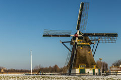 holland windmill Royaltyfri Bild