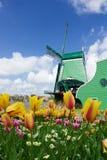 Holland windmill Royalty Free Stock Photos