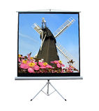 Holland windmill on movie screen. Photo of amsterdam holland windmill projected onto movie screen stock photography