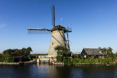 Holland and windmills Stock Image