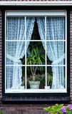 Holland Window Royalty Free Stock Photography