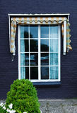 Holland Window. Old holland Window  outdoor. Netherlands Stock Image