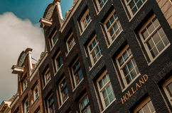 Hollandaise facades Stock Images