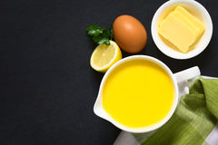 Hollandaise Sauce Royalty Free Stock Photo