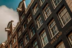 Hollandaisefassaden Stockbilder