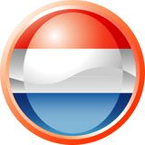 Hollande-bouton Photographie stock libre de droits