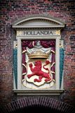 Hollandia sculpture. The Hague Royalty Free Stock Images