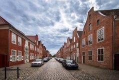 Dutch Quarter in Potsdam, Brandenburg, Germany. The `Hollandisches Viertel` Dutch Quarter in Potsdam, Brandenburg, Germany Royalty Free Stock Photography