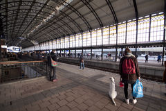 Hollands Spoor station in The Hague Royalty Free Stock Photos