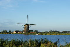 Hollands windmill Stock Photo