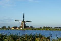 Hollands windmill Stock Photo