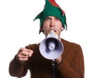 Hollering Elf Stock Image