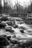Holley Falls. This beautiful stream is part of the Holley Falls Park in NY royalty free stock photography