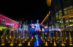 Holliday Lights of Bangkok Stock Photos