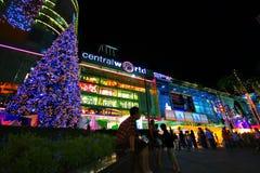 Holliday Lights of Bangkok Stock Images