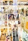 Holliday shopping mall Royalty Free Stock Photos