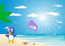 Holliday sur la plage Photo stock