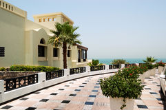 Holliday villa at the luxury hotel Stock Image